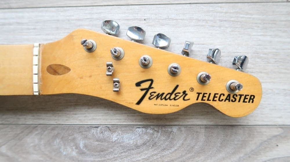 Fender Telecaster and tuner